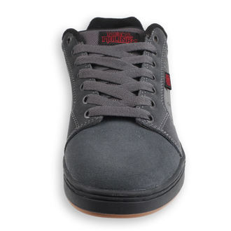 topánky ETNIES - Metal Mulisha - Barge - DARK GREY / BLACK / RED, METAL MULISHA