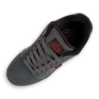 topánky ETNIES - Metal Mulisha - Barge - DARK GREY / BLACK / RED
