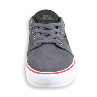 topánky ETNIES - Metal Mulisha - Barge - GREY / BLACK / WHITE, METAL MULISHA