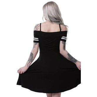 šaty dámske KILLSTAR - EXPECTATIONS BARDOT - BLACK