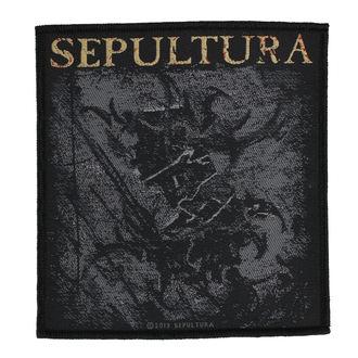 nášivka SEPULTURA - THE MEDIATOR - RAZAMATAZ, RAZAMATAZ, Sepultura