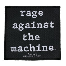 nášivka RAGE AGAINST THE MACHINE - LOGO - RAZAMATAZ, RAZAMATAZ, Rage against the machine