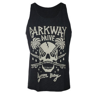 tielko pánske Parkway Drive - Skull Palms - Charcoal - KINGS ROAD, KINGS ROAD, Parkway Drive