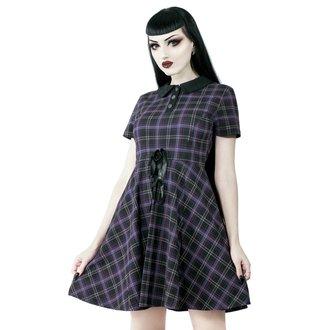 šaty dámske KILLSTAR - Feri - TARTAN, KILLSTAR