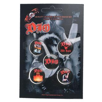 odznaky Dio - We Rock - RAZAMATAZ, RAZAMATAZ, Dio