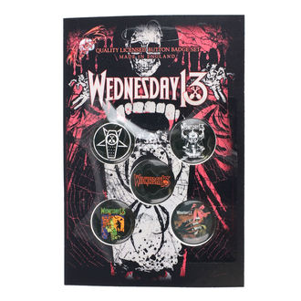 odznaky Wednesday 13 - Condolences - RAZAMATAZ, RAZAMATAZ, Wednesday 13