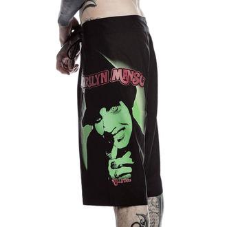 kraťasy pánske (plavky) KILLSTAR - Marilyn Manson - Fiend - Black, KILLSTAR, Marilyn Manson