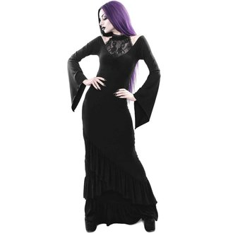 šaty dámske KILLSTAR - FOREVER FADES FISHTAIL - BLACK, KILLSTAR