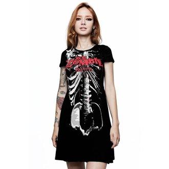 šaty dámske KILLSTAR - Rob Zombie - Foxy Bones Skater - BLACK, KILLSTAR, Rob Zombie