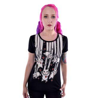 tričko dámske Cupcake cult - FALLING BUNNIES - BLACK, CUPCAKE CULT