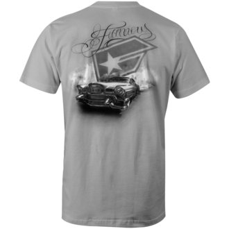 tričko pánske FAMOUS STARS & STRAPS - L.A. - GREY, FAMOUS STARS & STRAPS