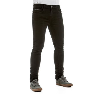nohavice pánske (jeans) NUGGET - Garage 2 - 1/7/38, C - Black, NUGGET
