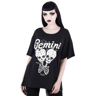 tričko dámske KILLSTAR - Gemini - BLACK, KILLSTAR