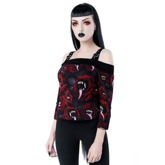 tričko dámske s 3/4 rukávom KILLSTAR - Genesis - Bardot, KILLSTAR