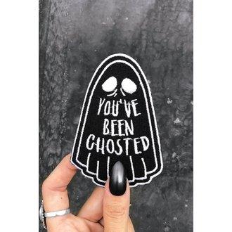 nažehlovačka (nášivka) KILLSTAR - Ghosted - BLACK, KILLSTAR