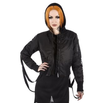 bunda dámska (bomber) KILLSTAR - Goth Doll Street - Black, KILLSTAR