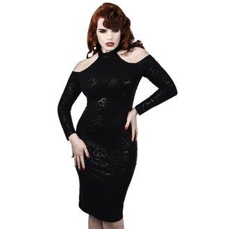 šaty dámske KILLSTAR - GRAVE GIRL HALTER - BLACK - K-DRS-F-2770