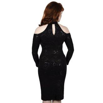 šaty dámske KILLSTAR - GRAVE GIRL HALTER - BLACK, KILLSTAR