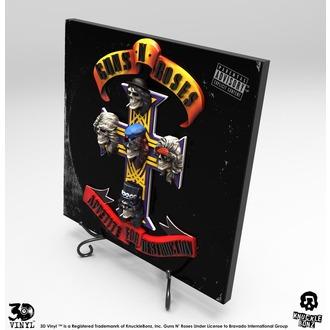 dekorácia Guns N' Roses - Appetite for Destruction, KNUCKLEBONZ, Guns N' Roses