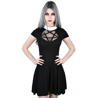 šaty dámske KILLSTAR - HADES SKATER - BLACK, KILLSTAR
