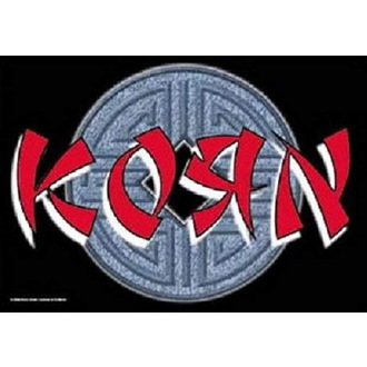vlajka Korn - Ball Logo, HEART ROCK, Korn