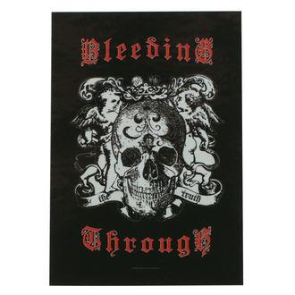 vlajka Bleeding Through - Truth, HEART ROCK, Bleeding Through