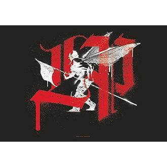 vlajka Linkin Park - Tangled, HEART ROCK, Linkin Park