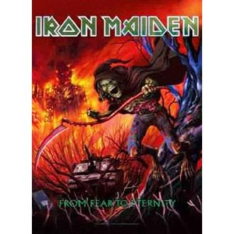 vlajka Iron Maiden - from Fear to Eternity, HEART ROCK, Iron Maiden