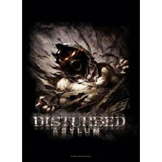 vlajka Disturbed - Big Fade Asylum, HEART ROCK, Disturbed