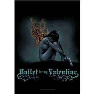vlajka Bullet For My Valentine - Burning Wings, HEART ROCK, Bullet For my Valentine