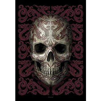 vlajka Anne Stokes - Oriental Skull, ANNE STOKES