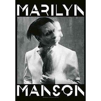 vlajka Marilyn Manson - Seven Days Binge, HEART ROCK, Marilyn Manson