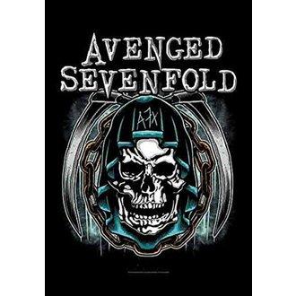 vlajka Avenged Sevenfold - Holy Reaper, HEART ROCK, Avenged Sevenfold