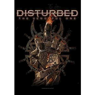 vlajka Disturbed - The Vengeful One, HEART ROCK, Disturbed