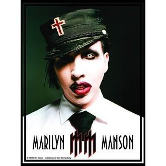 vlajka Marilyn Manson - Jednotný, HEART ROCK, Marilyn Manson