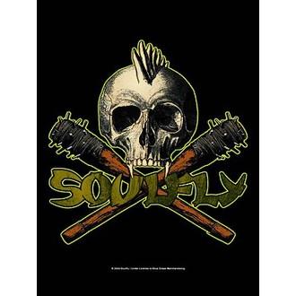 vlajka Soulfly - Skull, HEART ROCK, Soulfly