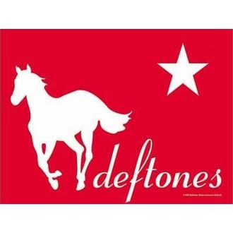 vlajka Deftones - Redpony, HEART ROCK, Deftones