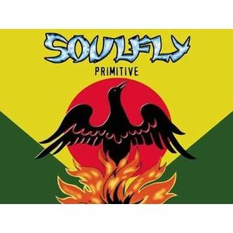 vlajka Soulfly - Primitive, HEART ROCK, Soulfly