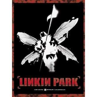 vlajka Linkin Park - Hybrid Theory I Winged Soldier, HEART ROCK, Linkin Park