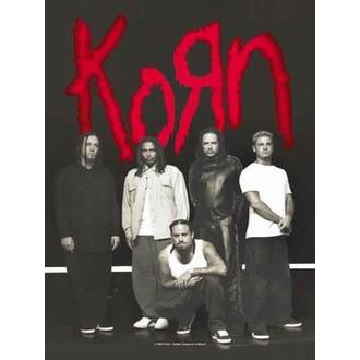 vlajka Korn - Hanger, HEART ROCK, Korn