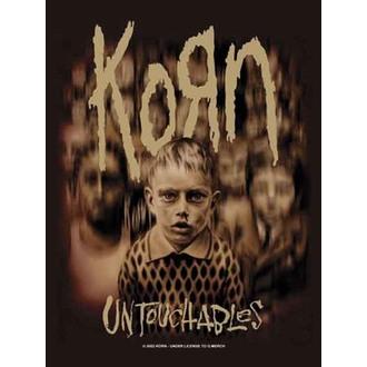 vlajka KORN - Blurr Kids, HEART ROCK, Korn