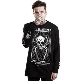 tričko pánske s dlhým rukávom KILLSTAR - ILLUSION - BLACK, KILLSTAR