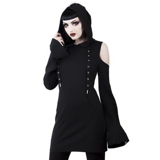 šaty dámske KILLSTAR - Iza Jersey - BLACK, KILLSTAR