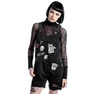 kraťasy dámske KILLSTAR - Jinx Cursed Cutie - Black, KILLSTAR