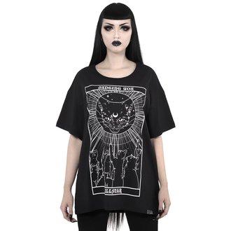 tričko dámske KILLSTAR - Judgement Relaxed - BLACK, KILLSTAR