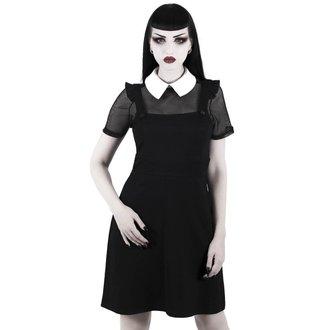 šaty dámske KILLSTAR - Juju Pinafore - Black, KILLSTAR