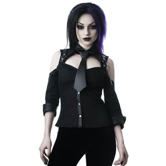 košele dámska KILLSTAR - Kalista Teachers Pet - BLACK, KILLSTAR