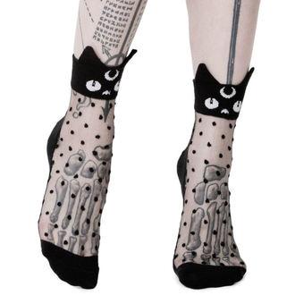 ponožky KILLSTAR - KAWAII - BLACK, KILLSTAR