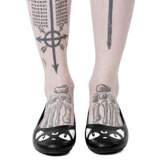 topánky dámske (balerínky) KILLSTAR - KEIKO KITTY - BLACK, KILLSTAR