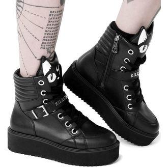 topánky dámske KILLSTAR - KEIKO KITTY - BLACK, KILLSTAR
